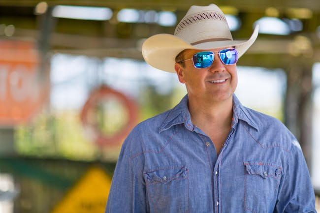 Roger Creager with guests Chris Colston and Jarrod Morris