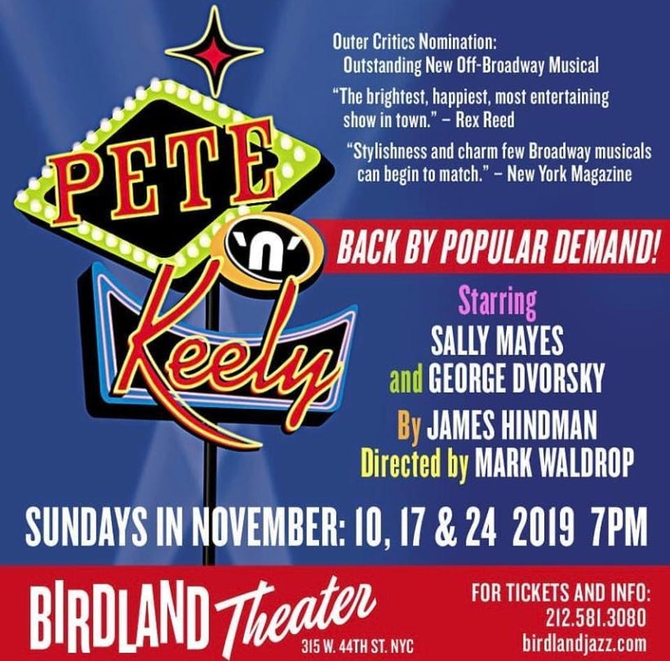 The Return of Pete 'n' Keely Starring Sally Mayes and George Dvorsky