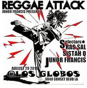 REGGAE FREE THURSDAYS + Junor Francis presents REGGAE ATTACK