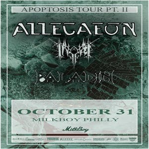 Allegaeon w/ Inferi, Paladin, and IATT