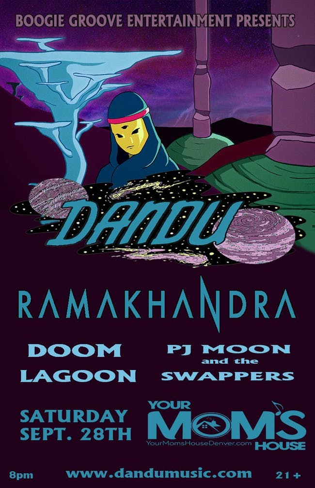 Soul Funk'd Up Saturdays feat. Dandu w/ Ramakandra // PJ Moon / Doom Lagoon
