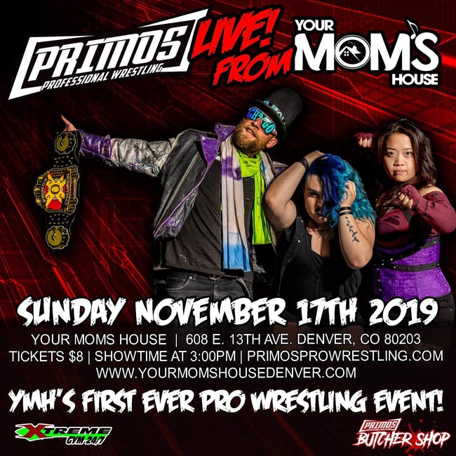 Primos Pro-Wrestling at YMH