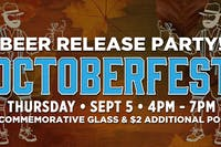 Octoberfest Beer Release Party