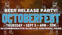 Octoberfest Beer Release Party