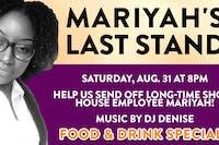 Mariyah's Last Stand