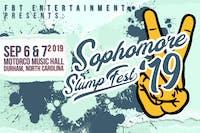 The 4th Annual Sophomore Slump Fest