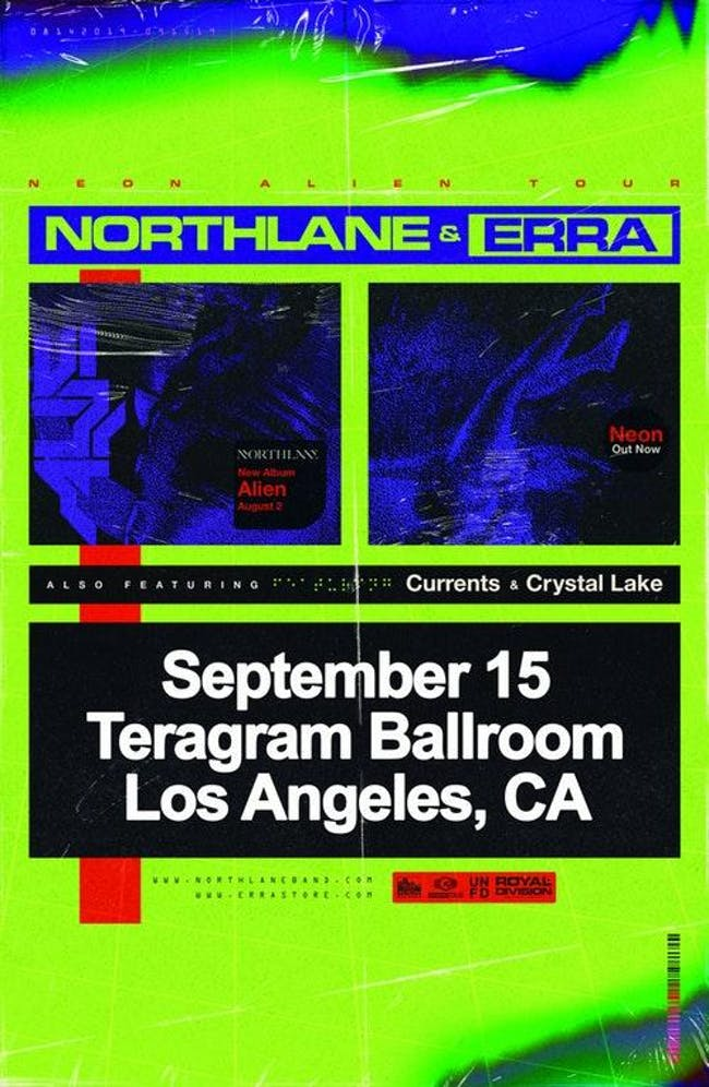 Northlane with Erra