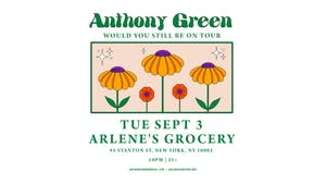 An Evening With Anthony Green