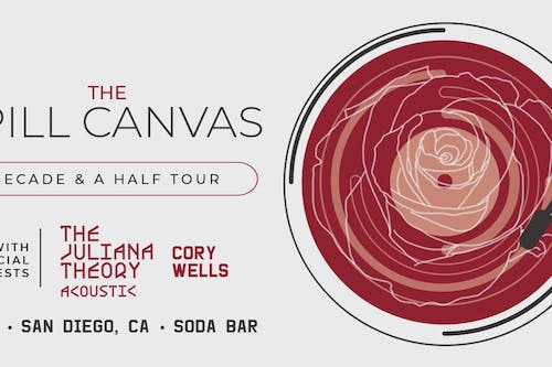 THE SPILL CANVAS, The Juliana Theory (Acoustic), Cory Wells