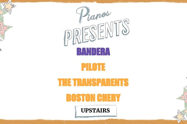 Bandera, Pilote, The Transparents, Boston Chery (FREE)