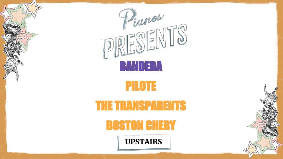 Bandera, Pilote, The Transparents, Boston Chery (FREE)