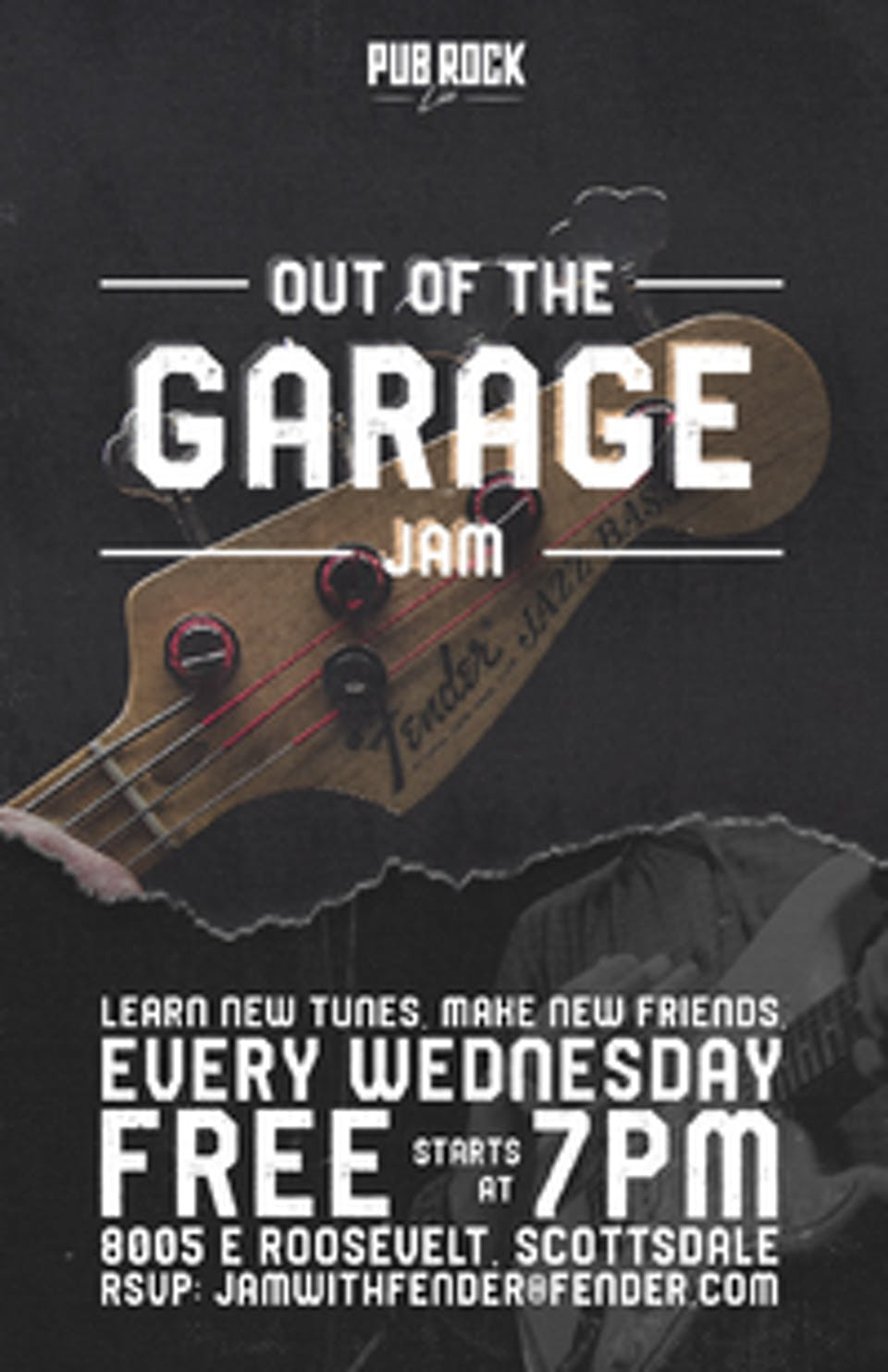 Out Of The Garage: Jam Night