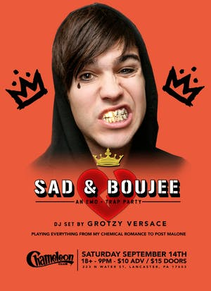 Sad & Boujee - Trap & Emo Dance Party