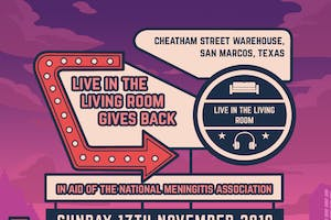 Live in the Living Room Gives Back