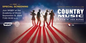 """Country Music"" Preview Celebration at Academy of Music"