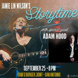 Jamie Lin Wilson's Storytime with special guest Adam Hood