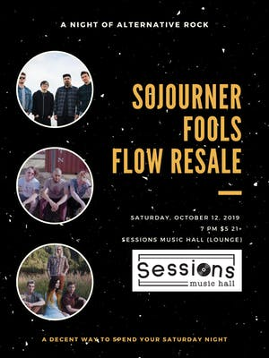 Sojourner / Fools / Flow Resale
