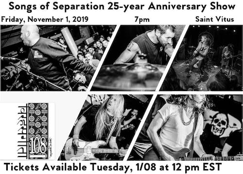 108: Songs of Separation 25th Anniversary—SOLD OUT!