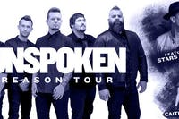 UNSPOKEN, THE REASON TOUR 2019