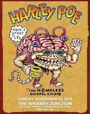* Whiskey Junction * Harley Poe w. The Homeless Gospel Choir