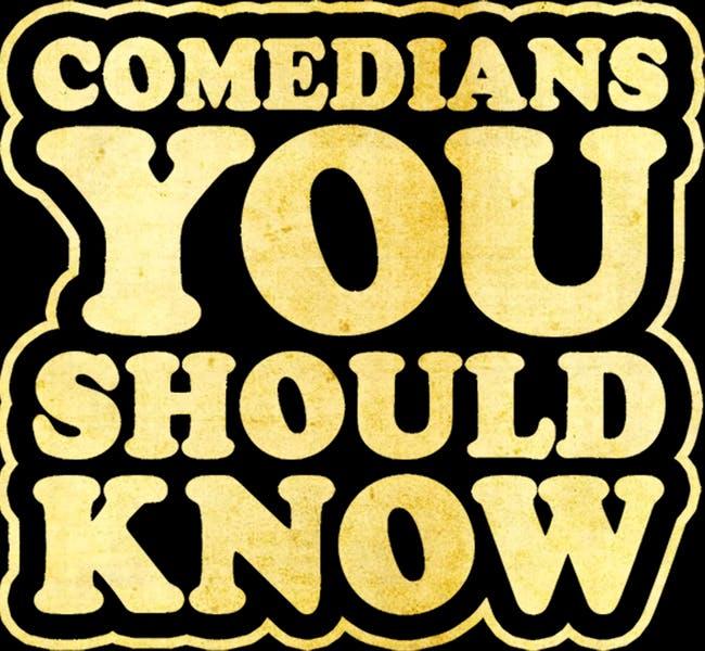 Comedians You Should Know ft. Sam Jay, Jo Firestone, Sean Patton
