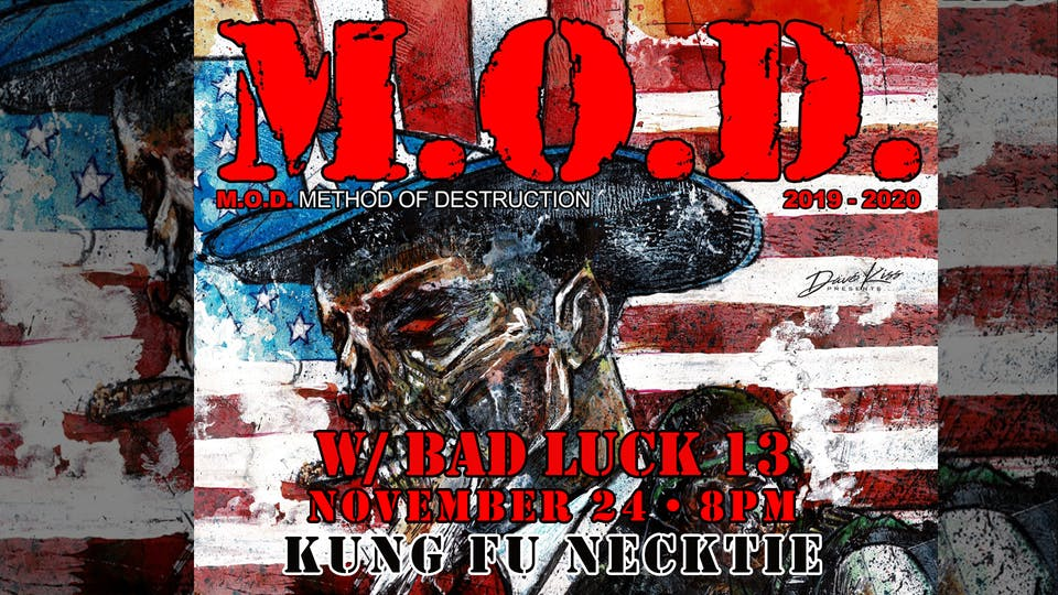M.O.D. ~ Bad Luck 13 ~ Please Die
