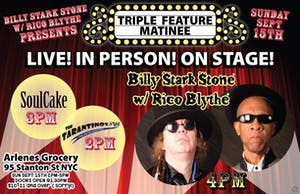 Billy Stark Stone and Rico Blythe with SoulCake and The Tarantinos NYC