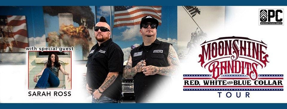 Moonshine Bandits w/ Sarah Ross & Creed Fisher