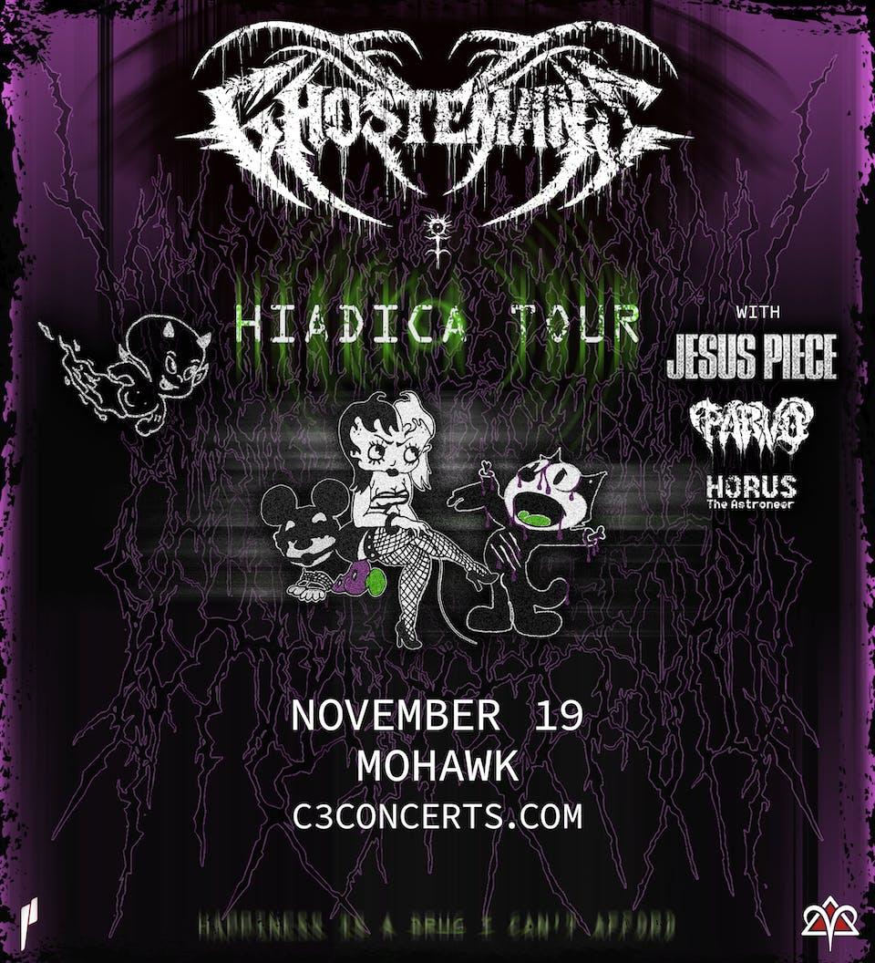 Ghostemane: Hiadica Tour @ Mohawk
