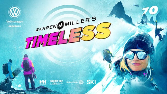 WARREN MILLER'S TIMELESS - SATURDAY 9:00PM