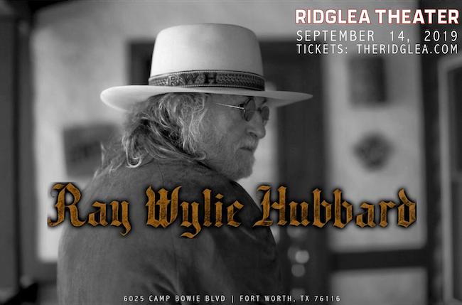 Ray Wylie Hubbard at Ridglea Theater