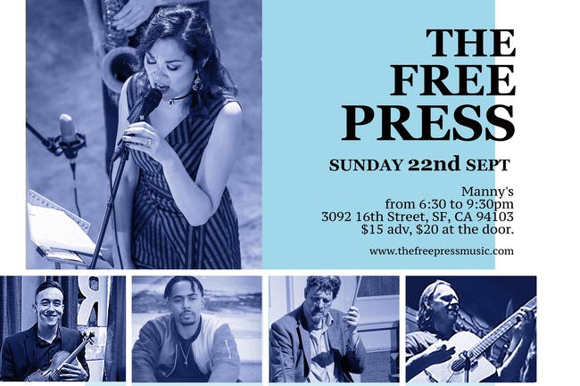 Free Press Music at Manny's