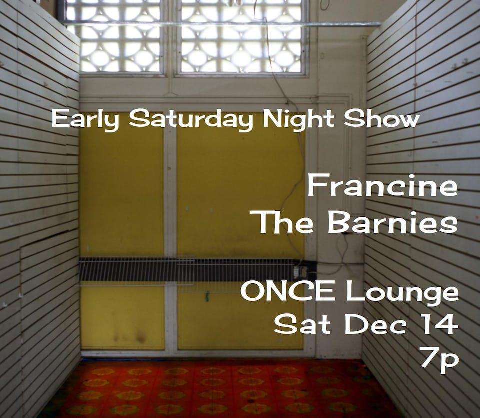 Francine + The Barnies