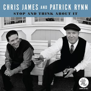 CLUB FOX BLUES JAM - On Tour: CHRIS JAMES and PATRICK RYNN