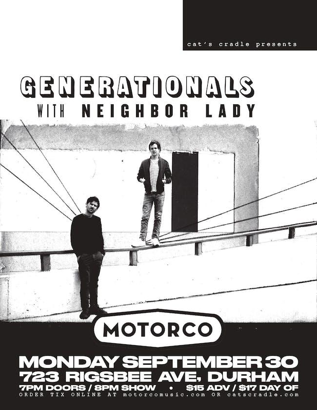 GENERATIONALS / Neighbor Lady