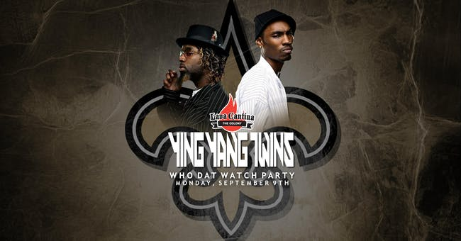 Ying Yang Twins LIVE! for New Orleans Saints Watch Party
