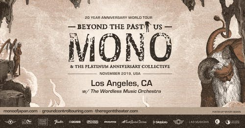 MONO w/ The Wordless Music Orchestra