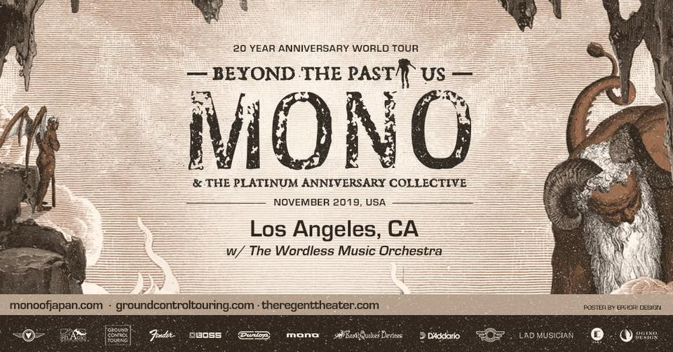 MONO w/ The Wordless Music Orchestra