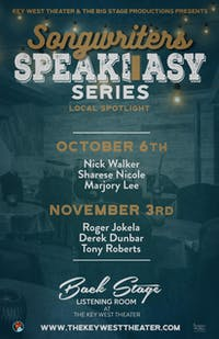 Songwriter Speakeasy Series:  Barry Cuda, Andy Westcott, Tony Baltimore