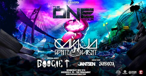 Ganja White Night with Boogie T, Jantsen and Subdocta