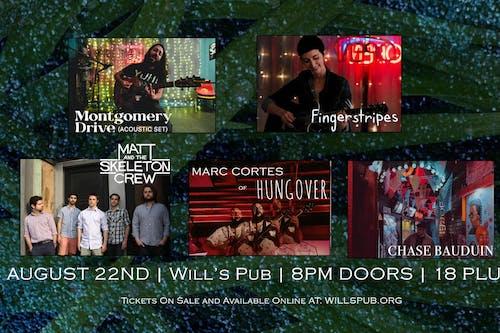 Montgomery Drive, Fingerstripes, Matt & TSC, Marc Cortes, Chase Bauduin