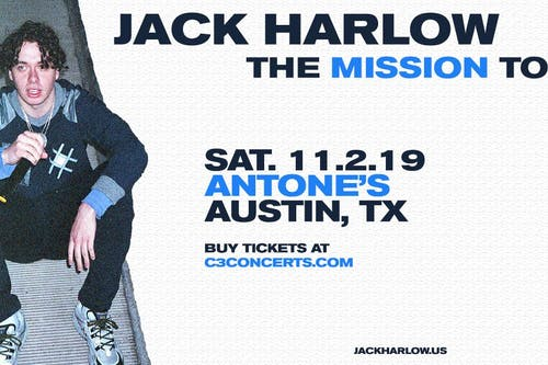 Jack Harlow - The Mission Tour with ALLBLACK