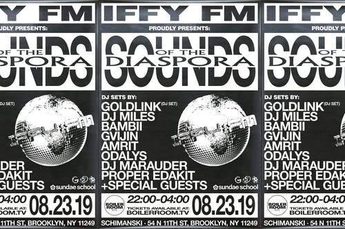 Boiler Room Presents: IFFY FM & GoldLink