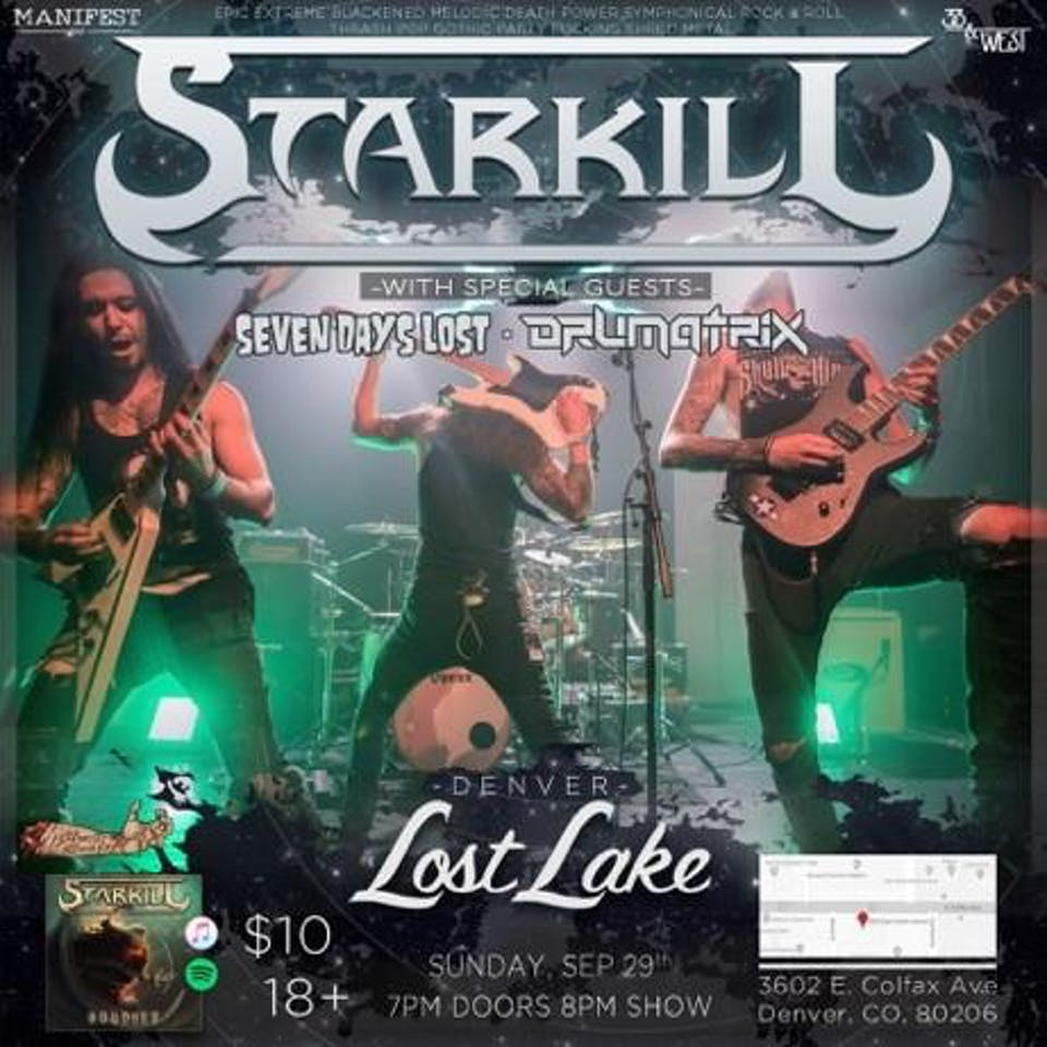 Starkill / Seven Days Lost / The Panoramic / Drumatrix