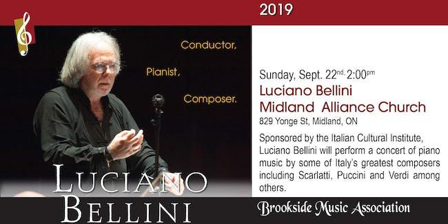Luciano Bellini - Conductor, Pianist, Composer