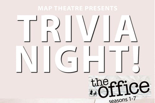 The Office Trivia Night! {S:1-7}   @ The Back Bar