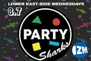 PARTYSHARKS NYC ft. DJ Izm + Smudge (DC) (FREE)