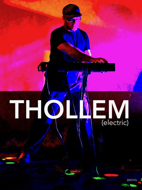 Thollem with films plus trio with Brian Steever and Jeff Harshbarger