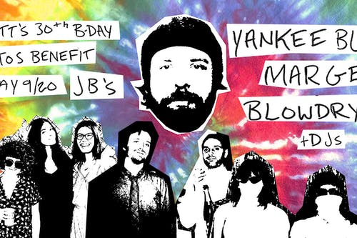 Barrett's Birthday Juntos Benefit with Yankee Bluff & Friends!