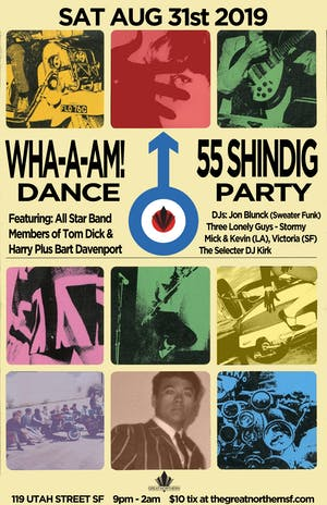 WHA-A-AM! Dance 55 Shindig Party